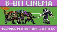 The 2014 'Teenage Mutant Ninja Turtles' Film Retold as an 8-Bit Animated Video Game