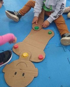 Fun Activities For Kids Body Preschool, Preschool Lessons, Preschool Activities, Games For Kids, Art For Kids, Crafts For Kids, Toddler Learning Activities, Kids Learning, Monkey Crafts