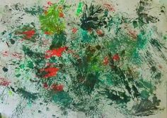 BOHATSTVÍ BAREV LESA - objevení rozličných zelených odstínů; hry srytmem, hustotou, barevností (otisky přírodnin s použitím temperových barev) Georges Seurat, Painting, Painting Art, Paintings, Painted Canvas, Drawings