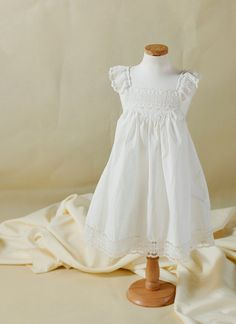 Ivory / Off White Lace Cotton French Vanilla by LingsBridal, $39.99