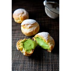 Green Tea Ice Cream Recipe | Easy Japanese Recipes Just One Cookbook ❤ liked on Polyvore