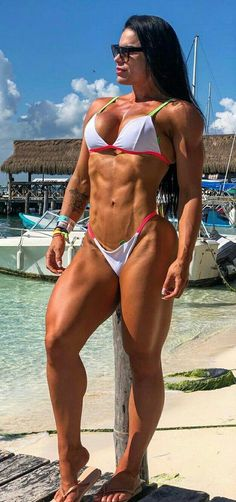 Fitness Gurls, Fitness Models, Female Fitness, Muscle Building Workouts, Fitness Motivation Pictures, Muscular Women, Great Legs, Muscle Girls, Bikini Bodies