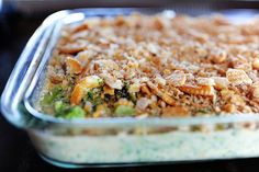 Broccoli Casserole with Velvetta Cheese and Ritz Crackers... who can ask for more?? A side dish for Christmas Dinner... oh how I can't wait!!