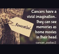 Our imagination is like a motion picture in our mind! #Cancer #Cancerian #Moonchild