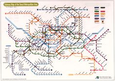 This is a Seoul subway system map that I have looked at soo many times. But I want to go to other countries subways!! :D