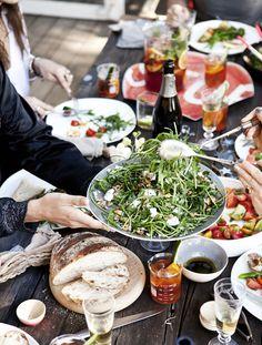 eat a healthy dinner