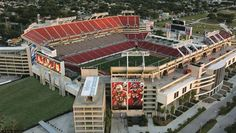 Raymond James Stadium in Tampa, FL where the Gamecocks will play against Michigan in the Outback Bowl on New Years Day! Raymond James Stadium, Go Gamecocks, Clearwater Beach, Tampa Bay Buccaneers, Tampa Florida, Beach Day, Places Ive Been, Michigan, Southern