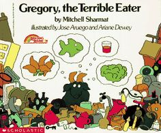 Gregory, the Terrible Eater – Exploring MyPlate - Todo Sobre La Salud Bucal Health And Physical Education, Nutrition Education, Kids Nutrition, Nutrition Tips, Health And Nutrition, Nutrition Tracker, Nutrition Month, Nutrition Classes, Cheese Nutrition