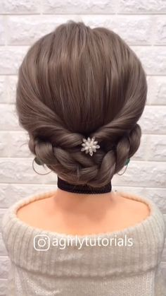 12 Tutorials Braid Hair You Can Do Yourself Part 2 – beautiful hair styles for wedding Updo Hairstyles Tutorials, Step By Step Hairstyles, Easy Hairstyles For Long Hair, Braids For Long Hair, Pretty Hairstyles, Hairstyles Videos, Hairstyles For School, Cute Little Girl Hairstyles, Long Hair Dos