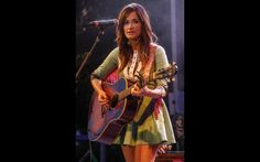 """Ahead of her appearance on """"CMT Crossroads"""" with Katy Perry on June 13, GRAMMY-winning country singer/songwriter Kacey Musgraves recently performed at The Recording Academy Nashville Chapter GRAMMY Block Party, which also featured performances by Brandy Clark, Martina McBride and Chris Young, among others."""
