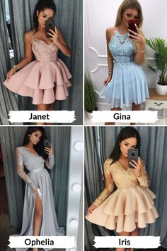 Fancy Dress For Teens, Dresses For Teens, Cute Dresses, Formal Dresses, Tail Hairstyle, Homecoming Dresses, Rustic Wedding, Girl Fashion, Cool Outfits