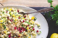 oriental cauliflower salad