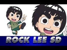 Rock Lee Sd, Drawing Rocks, Naruto Drawings, Anime, Manga, Videos, Art, Learn To Draw, Naruto Characters