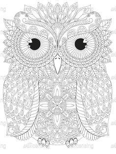 Coloring canvas, owl coloring pages, canvas online, mandala art, owl bird. Mandala Art, Mandalas Painting, Mandalas Drawing, Dot Painting, Coloring Canvas, Owl Coloring Pages, Coloring Books, Owl Clip Art, Owl Art