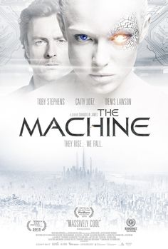 Mega Sized Movie Poster Image for The Machine