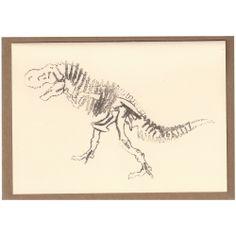 Dinosaur Card [Bones]