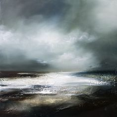 Semi Abstract Seascape - Inspired by the wild and rugged coastlines of the world.