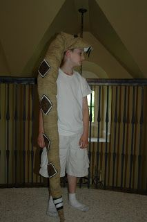 3 to Sew: Another Snake Costume...
