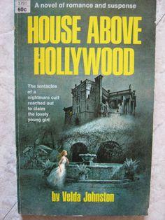 VINTAGE 1969 DELL GOTHIC ROMANCE MYSTERY VELDA JOHNSTON HOUSE ABOVE HOLLYWOOD