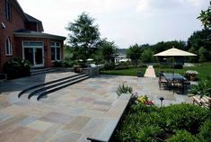 >>Click the link to read more about building a fire pit with pavers. Click the link to learn more~~ The web presence is worth checking out. Stone Patio Designs, Small Patio Design, Small Backyard Patio, Backyard Patio Designs, Backyard Landscaping, Patio Ideas, Modern Backyard, Pool Ideas, Yard Ideas