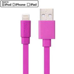 Wkae MFI 8 pin to USB Cable for iPhone 6 & 6 Plus 5 & 5S & 5C / iPad Air 2 & Air / iPad mini 3 & mini 2 & mini / iPod, Length: 1m