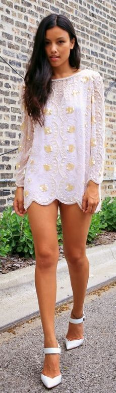 Cute lace mini dress for summer. Pink Pad - the app for women - pinkp.ad
