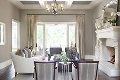 like the wall color and mantel decor