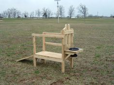 Goat Milking Stand