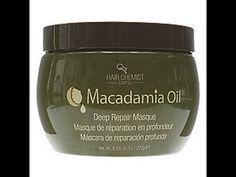 Macadamia Oil Deep Repair Masque Hair Chemist Limited Review - YouTube Macadamia Oil, Shampoo Brush, Conditioning Shampoo, Tangled Hair, Hair Knot, Festival Hair, Black Soap, Hair Care Routine, Chemist