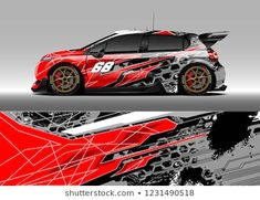 Find Racing Car Wrap Design Vector Graphic stock images in HD and millions of other royalty-free stock photos, illustrations and vectors in the Shutterstock collection. Car Decals, Car Stickers, Vinyl Decals, Car Wrap Design, Buggy Racing, Vinyl Wrap Car, Montero Sport, Mini Bus, 4x4 Trucks
