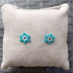Seed Bead Art, Seed Bead Jewelry, Bead Jewellery, Seed Bead Earrings, Beaded Earrings, Earrings Handmade, Handmade Jewelry, Ear Earrings, Miyuki Beads