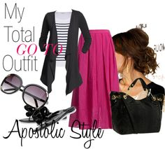 """""""My Total Go To Outfit;Apostolic Style"""" by emmyholloway on Polyvore"""