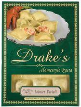 Drake's Pasta - Lobster Ravioli  Gourmet dinner in minutes...