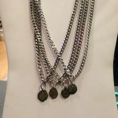 Unisex widow's mite necklaces. Made in memory of the owners father, Bill Coyne. Part of the proceeds go to Harvest Church
