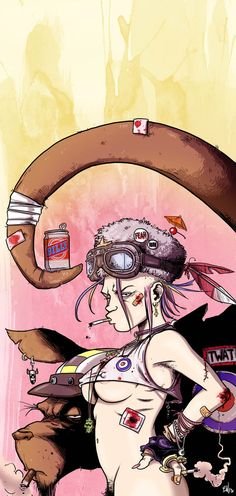 Tank Girl - Chris Bones