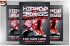 Hip Hop Sneakers Flyer Template is a premium Photoshop PSD flyer / poster template designed by FlyerHeroes to be used with Photoshop and higher. Event Flyer Templates, Flyer Design Templates, Hip Hop Sneakers, Photography Flyer, Halloween Flyer, Christmas Flyer, Club Flyers, Creative Flyers, Flyer Layout
