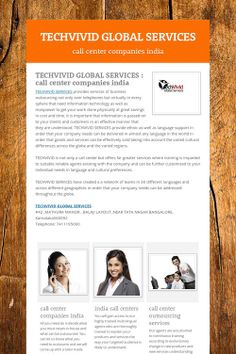 TECHVIVID GLOBAL SERVICES