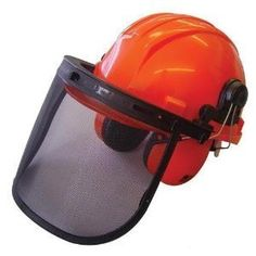 406efa8b Chainsaw Forestry Safety Helmet with Ear Defenders, By ISE Chainsaw Safety  Gear, Safety Helmet