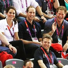 """'Isn't he funny'  #katemiddleton #duchessofcambridge #princewilliam #princeharry #picoftheday #trio #love #smile #cute #royals #british #princegeorge #princesscharlotteelizabethdiana"" Photo taken by @kateemiddletonn on Instagram, pinned via the InstaPin iOS App! http://www.instapinapp.com (10/12/2015)"