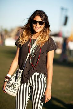 Coachella style! 50+ hot snaps from the festival...check them all out on R29. Photo by Mark Iantosca.