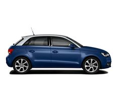 Paintwork: Scuba Blue with Silver Metallic Roof Dome.    Find out more about the Audi A1 Sportback here:  www.m25audi.co.uk...