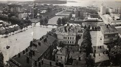 Kuvissa on laajasti esillä vanhaa Viipuria, Eurooppaa ja rajantakaista Karjalaa. Map Pictures, Paris Skyline, Maps, Travel, Museum, Historia, Finland, Viajes, Blue Prints