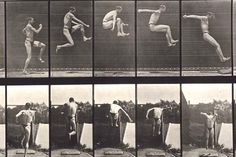 An 1887 motion study by Eadweard Muybridge