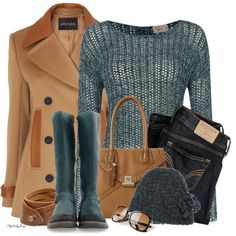 """""Life is like a camel; you can make it do anything except back up."" Marcelene Cox"" by stylesbyjoey on Polyvore"