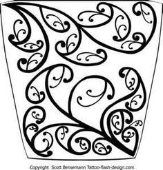 "My original reference design of my right wing is Maori-inspired. ~Sezin ""Maori koru pattern sleeve (this is forearm sleeve)"" Maori Designs, Tattoo Designs, Tattoo Ideas, Tangle Doodle, Zen Doodle, Zentangle, Arabesque, Cool Patterns To Draw, Maori Patterns"