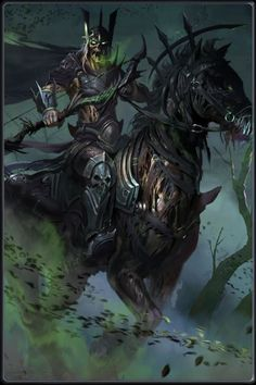 horsemen Makeup Ideas makeup ideas for unicorn All Mythical Creatures, Fantasy Creatures, Dark Fantasy Art, Dark Art, Four Horsemen Of The Apocalypse Tattoo, Beast Of Revelation, Dark Castle, Epic Characters, Skull Art