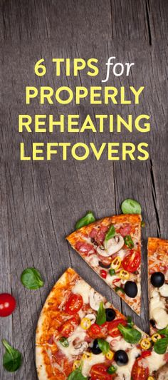 6 tips for properly reheating leftovers