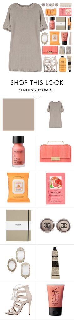 """♡ saying the same thing twice won't make it right ♡"" by becauseallycan ❤ liked on Polyvore featuring Zoffany, Perricone MD, J. Mendel, Burt's Bees, H&M, Shinola, Chanel, Aesop and NARS Cosmetics"