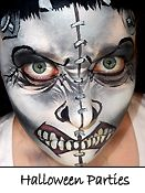 Frankenstein Face for Costume Halloween Parties