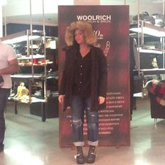 What does a parka make me feel?  Marianna Rivero    Perfection, technology and state of the art #yubeloveswoolrich